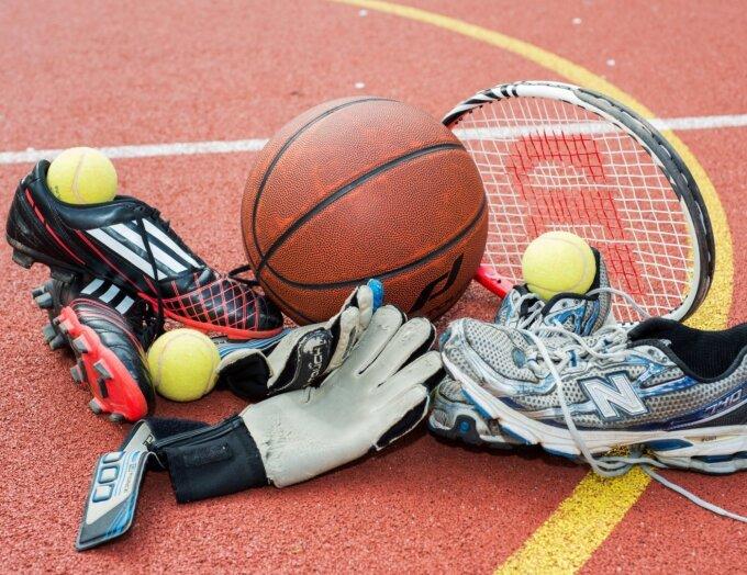 Sportutensilien