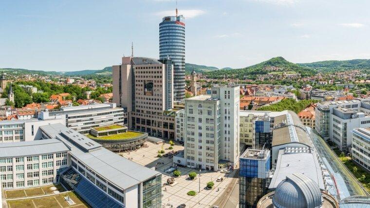 Campus der Universität Jena