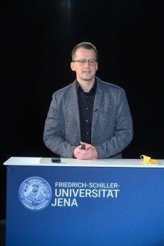 Vorstellung der prämierten Lehrveranstaltung von Dr. Stefan Fedtke