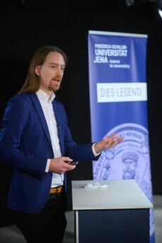 Vorstellung der prämierten Lehrveranstaltung von Jun.-Prof. Dr. David Löwenstein