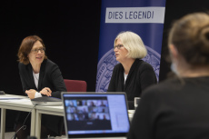Workshop Selbstständigkeit -- Lehrendensicht (v.l.n.r. Prof. Dr. Miriam Rose, Prof. Dr. Mirka Dickel, Karoline Henkel)